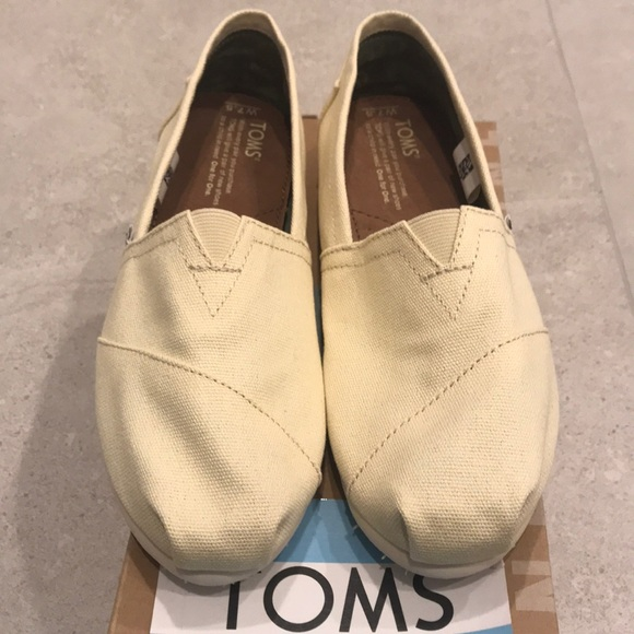 Toms Wmn Classic Natural Canvas Brand